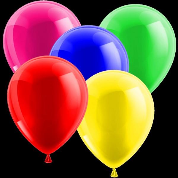 Luftballon mit/ohne Heliumfüllung 50cm
