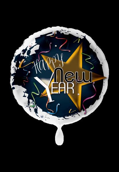 """Folienluftballon """"Happy New Year"""""""