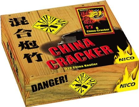 "China Cracker (Pyro Cracker) ""Schinken"""