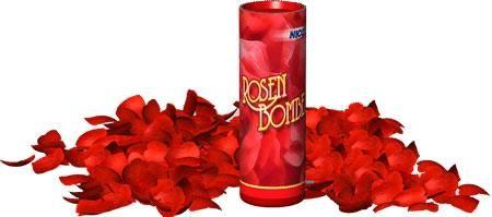 Tischfeuerwerk Rosenbombe