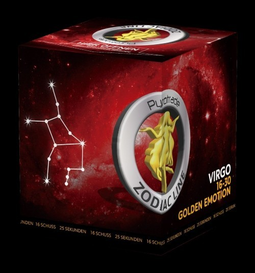 Golden Emotion - Virgo - Zodiac Line
